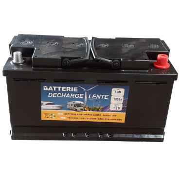 SEPTRIUM MEGA 100 AGM - Batterie Camping Car