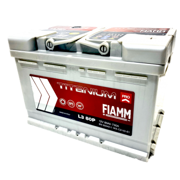 FIAMM L3 80P - Batterie Voiture de collection