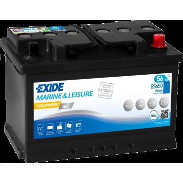 EXIDE GEL ES650 - Batterie Bateau