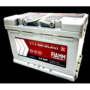 FIAMM L3 80P - Batterie Camping Car