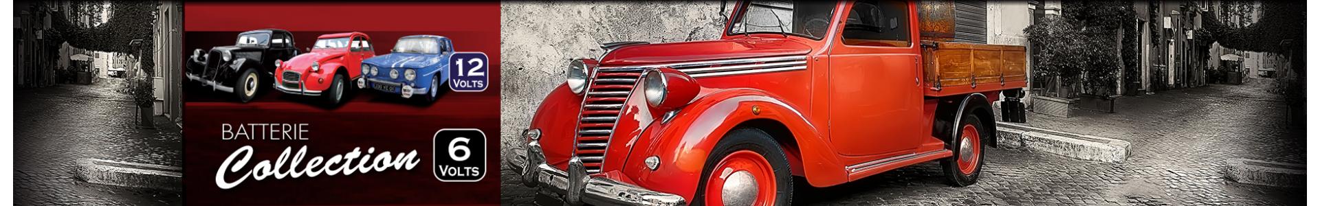 Batterie pour voiture de collection et ancien, 6 volts et 12 volts, Batteries Sélection