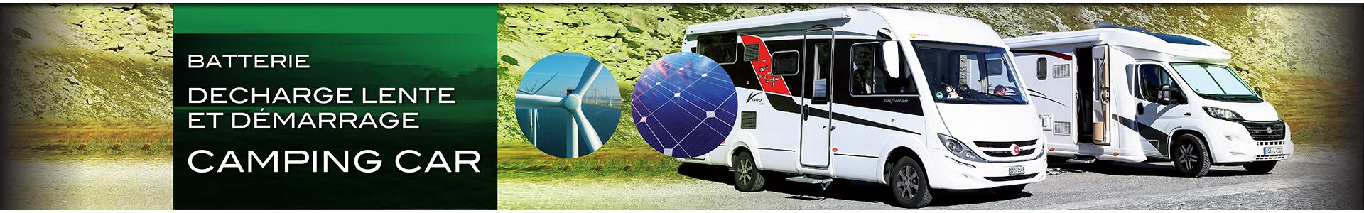 Batterie pour camping-car, batterie démarrage et batterie servitude, Batteries Sélection