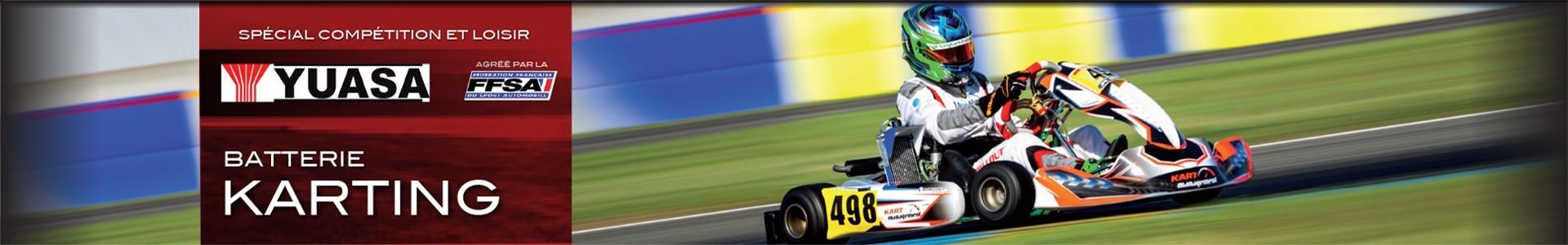 Batterie pour karting électrique, Batteries Sélection