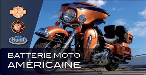Batterie moto américaine